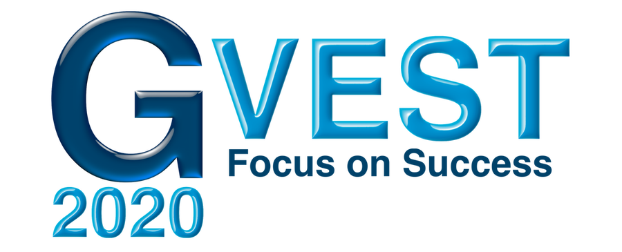 The letters GVEST and text Focus on Success 2020